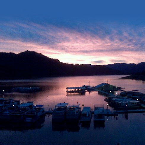 Shasta Lake Houseboats Bridge Bay Marina
