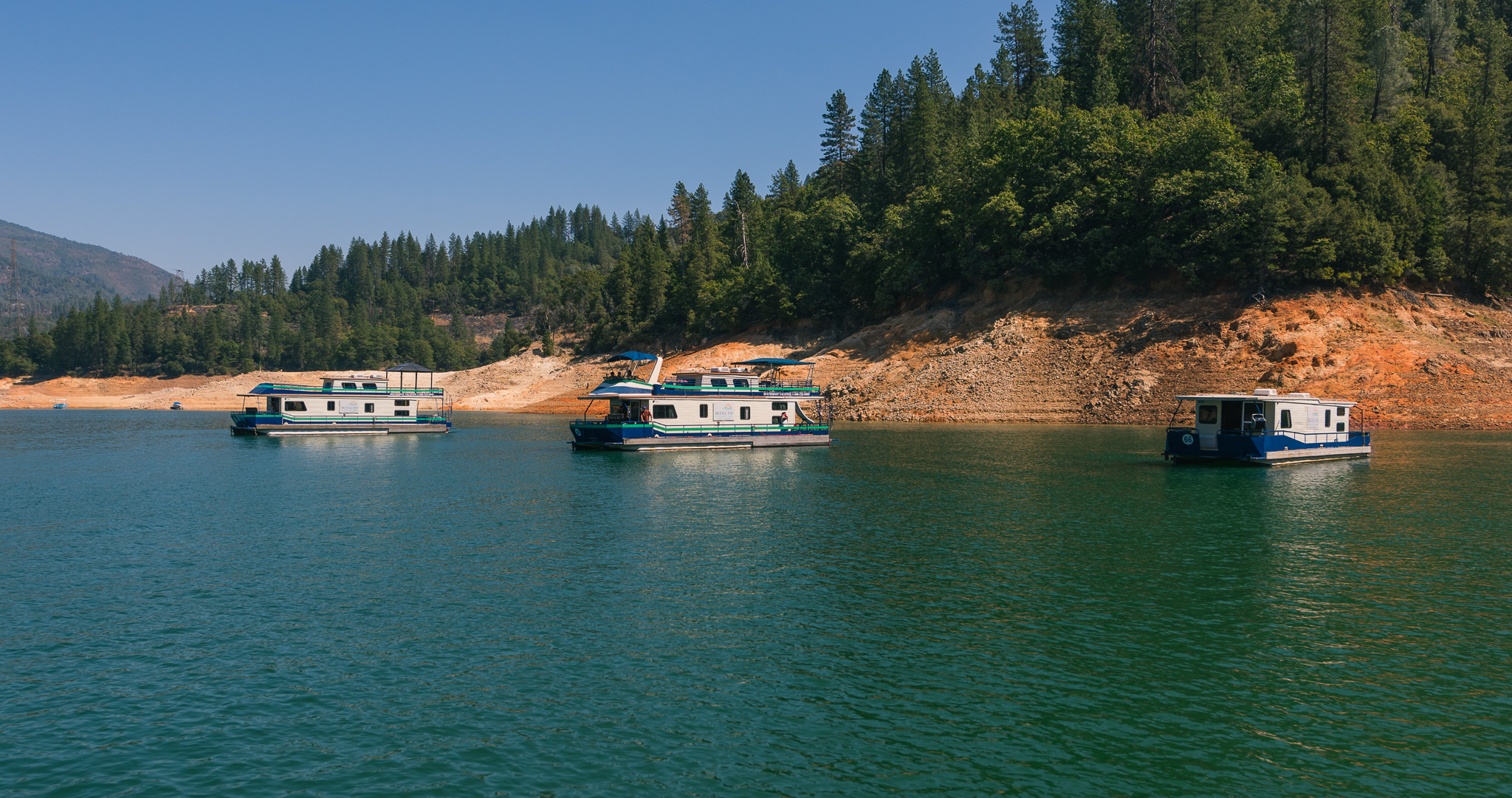 Shasta Lake activities